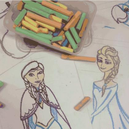 Frozen: Movie Character Illustration Workshop for Kids (ages 4 to 12)