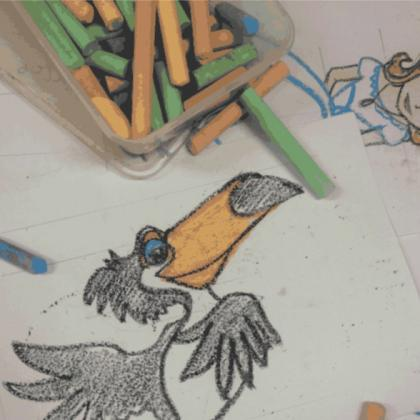 Rio 2: Movie Character Illustration Workshop for Kids (ages 4 to 12)