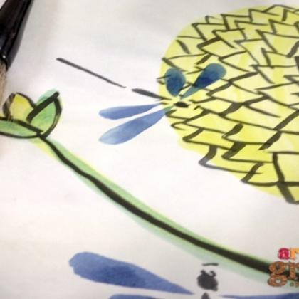 Chinese Painting for Kids (ages 4 to 12)