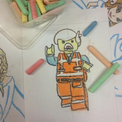 Lego: Movie Character Illustration Workshop for Kids (ages 4 to 12)