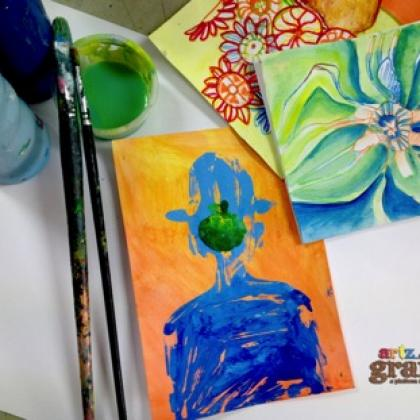 Picasso + Rene Magritte Art Workshop (ages 4 to 12)