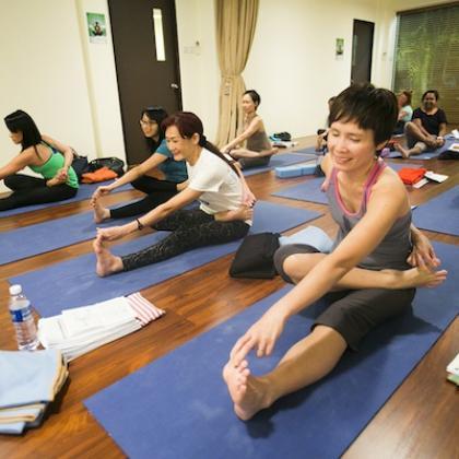 yin yoga open class  yoga classes in singapore