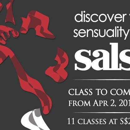 Salsa Course - Discover your Sensuality with Salsa