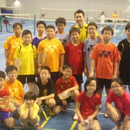 Basic Badminton Training Programme (2 sessions per week)