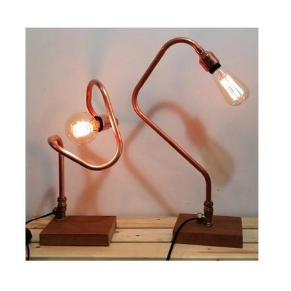 Industrial Copper Pipe Lamp Workshop (with pipe bending)