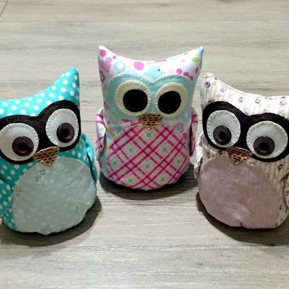 Owl Plush Toy Workshop