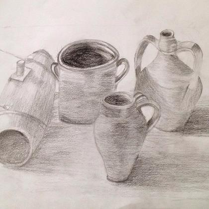 Still Life Drawing for Adults and Teens