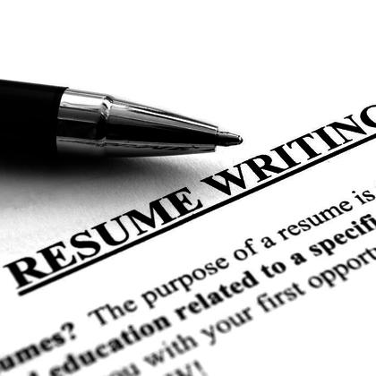 Courses on resume writing