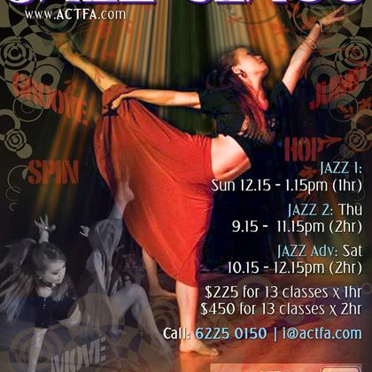 Lyrical Jazz Dance Classes Singapore - 13 Weeks