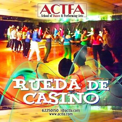 1-for-1 offer Salsa Rueda Dance Class - 13 weeks