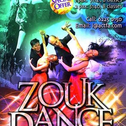 1-for-1 Zouk Dance Class Specials