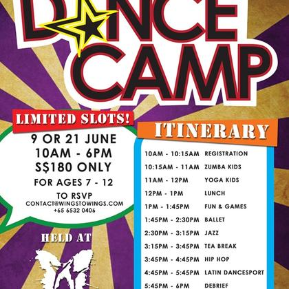 June Holiday Dance Camp for Kids
