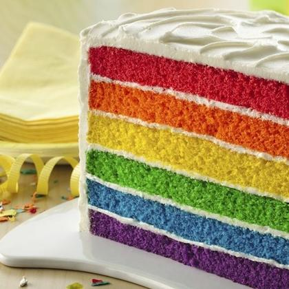 6-Layer Rainbow Cake