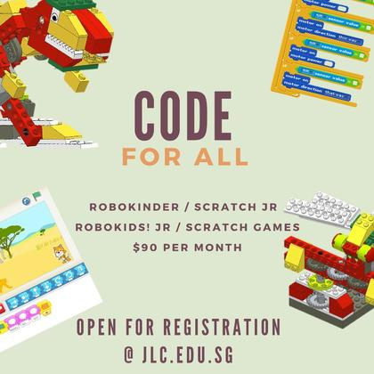 CODE FOR ALL - robokinder