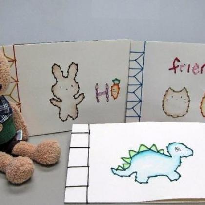 Stitch a Sketchbook – Bookbinding for kids