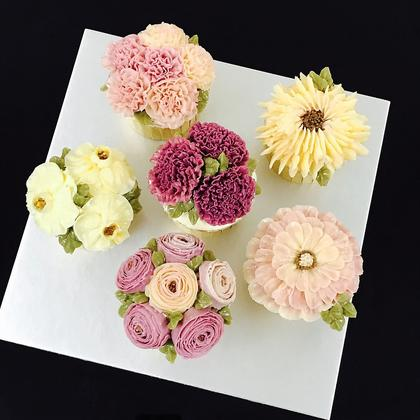 Classes by Yume Patisserie. $200.00. Korean Buttercream Cupcake