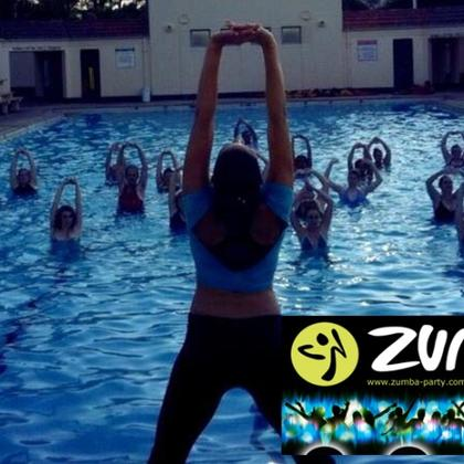 Aqua Zumba (The Splash Party @ Private Pool Deck)
