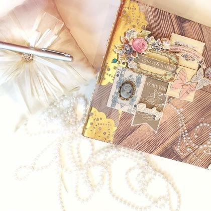 how to make a handmade scrapbook album