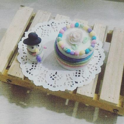 DIY mini cake soap cake making
