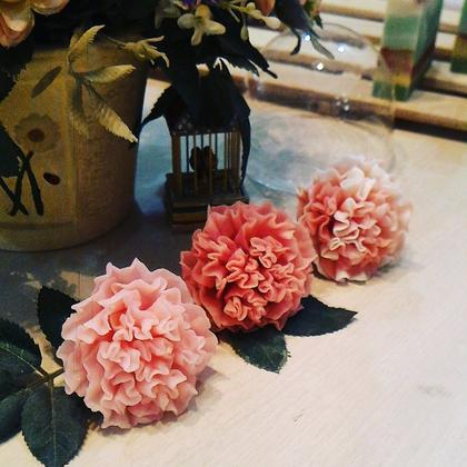 Carnation Flower Soap Making Class