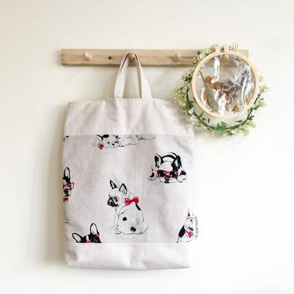 Japanese Cotton Tote Bag with Lining Sewing Class #102