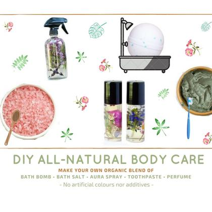DIY ALL-NATURAL BODY CARE