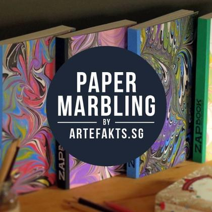 Paper Marbling for Adults & Teens