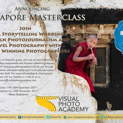 Singapore Master Class - Documentary & Travel Photography Workshop with Altaf Qadri and Aarief Hussain