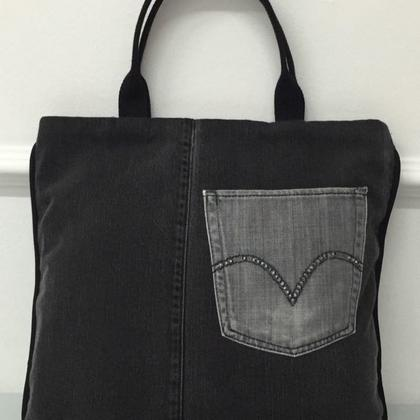Jeans Tote Bag Sewing Class