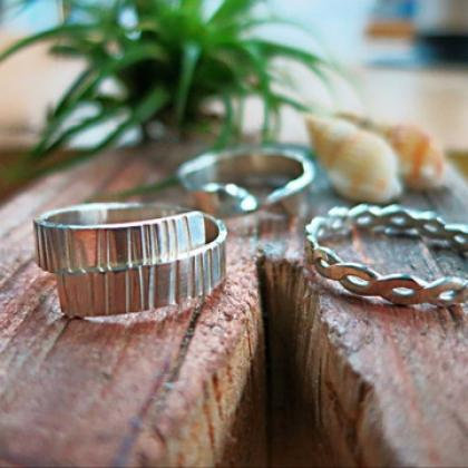 Handcraft a 925 Sterling Silver Ring