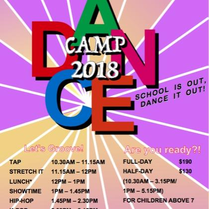 March Holiday Dance Camp