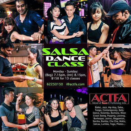 Salsa Dance Classes - 13 Weeks