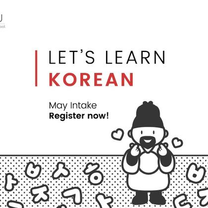 May Intake - Korean Classes for Beginners