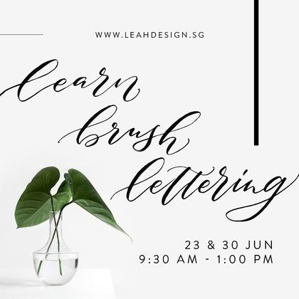 Learn Brushlettering 2-Day Course