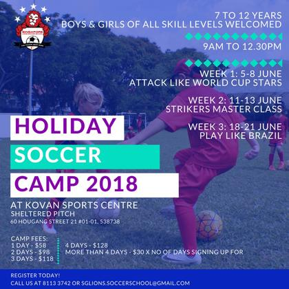 Holiday Soccer Camp