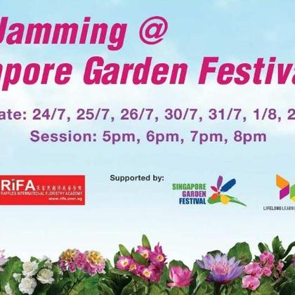 Floral Jamming @ Singapore Garden Festival