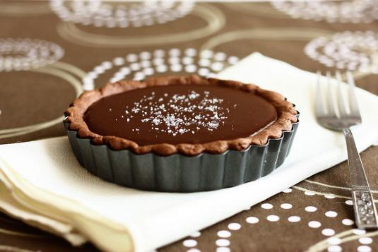 Chocolate Tart With Salted Caramel Pastry Classes In