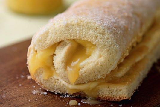 Lemon Curd Swiss Roll And Kalamansi Jelly Cake Baking