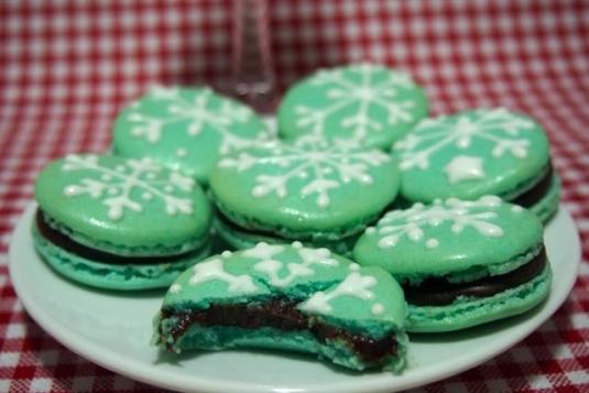 Christmas Macarons.Christmas Macaron Workshop