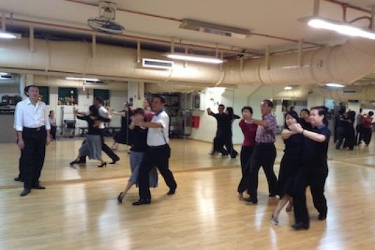 Standard Ballroom Dancing Intermediate Course Ballroom
