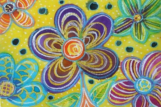 Batik Painting Ages 4 To 12 Painting Classes In