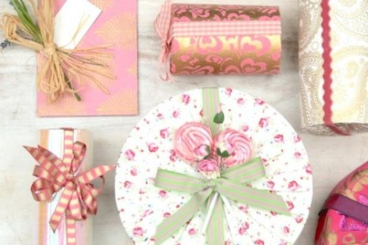 Luxurious Gift Wrapping Papercraft Bow Making And Handmade
