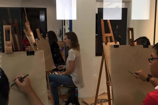 Figure Drawing Session Drawing Classes In Singapore