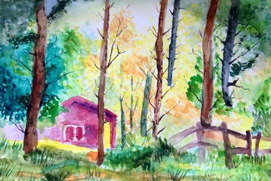 Watercolor Painting For Adults And Teens 4 Lessons