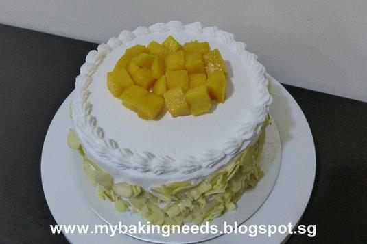 Mango Cake And Cupcakes Cake Baking Classes In Singapore