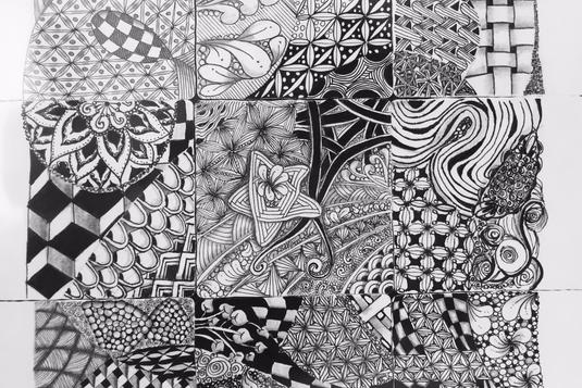 zentangle 101 drawing classes in singapore lessonsgowhere