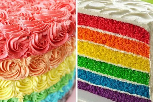 Rainbow Cake Baking And Piping Decoration Cake Baking Classes In