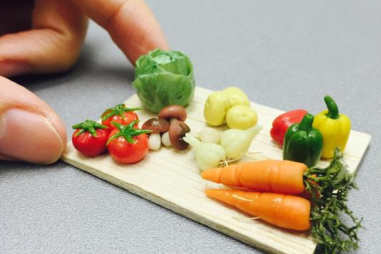 Japanese Air Dry Clay Kawaii Miniature Vegetable Make And