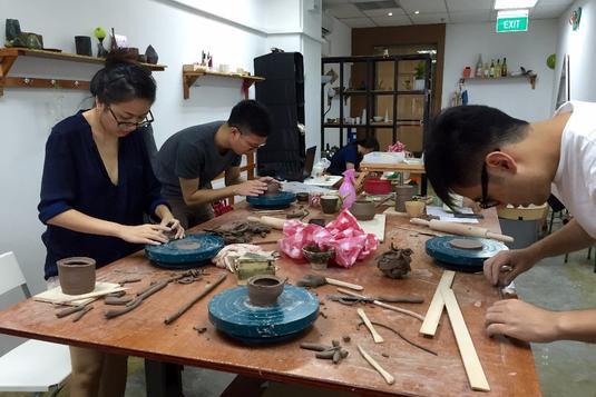 Pottery Trial Class With Elizabeth Gan Pottery Classes