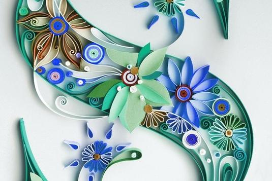 paper quilling art workshop   scrapbooking classes in